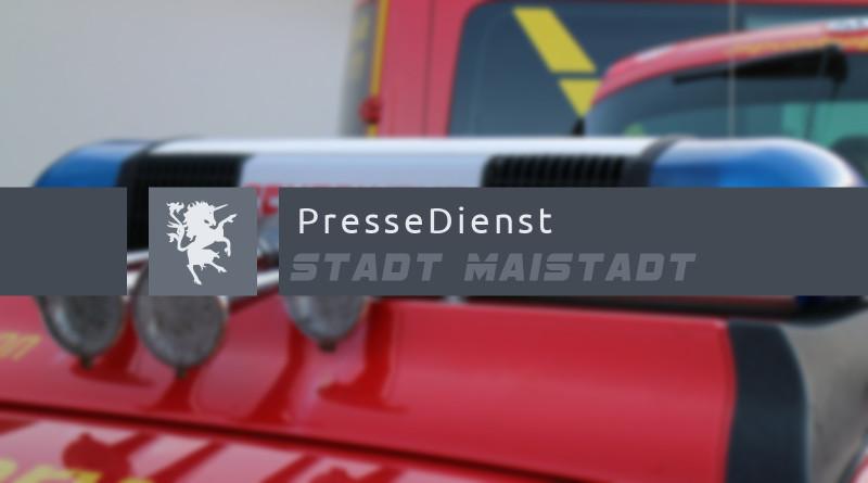 Pressedienst Feuerwehr Maistadt