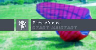 Pressedienst Paraglider Funkspiel Maistadt - 112% Teamwork