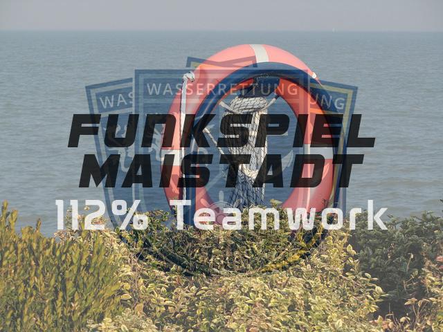 Wasserrettung Maistadt 112% Teamwork