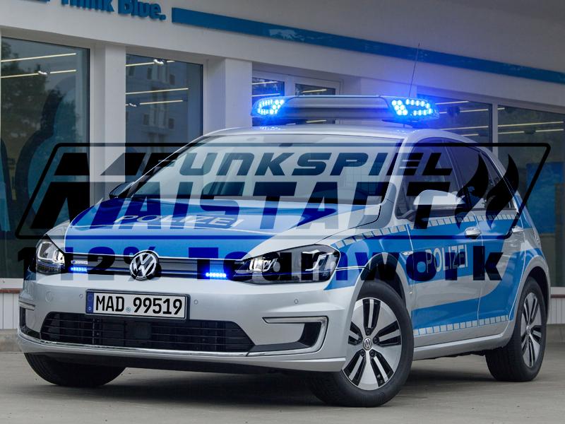 Polizei Maistadt - eGolf - Streifenwagen