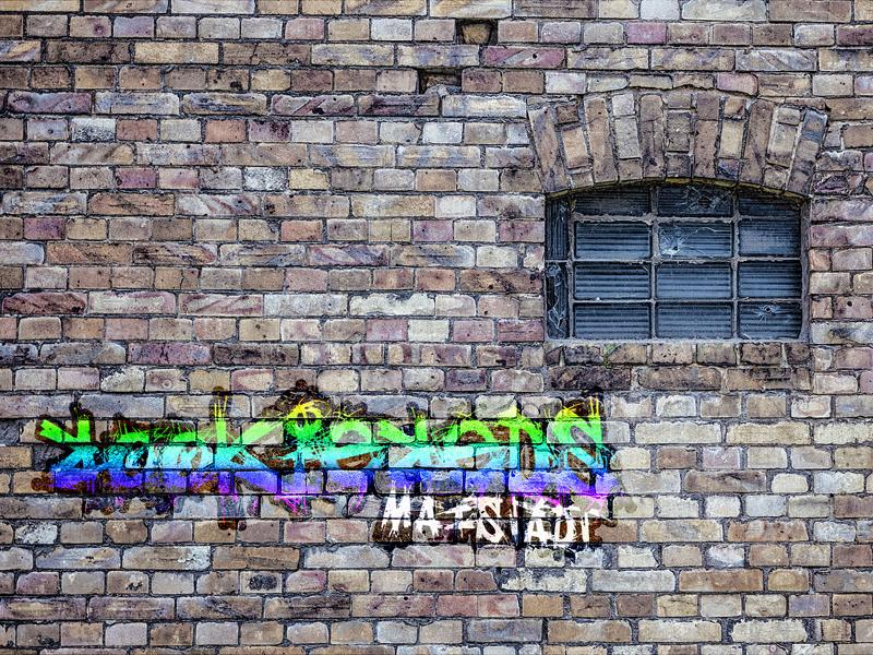 Graffitis in Maistadt - RookieReds - Funkspiel Maistadt